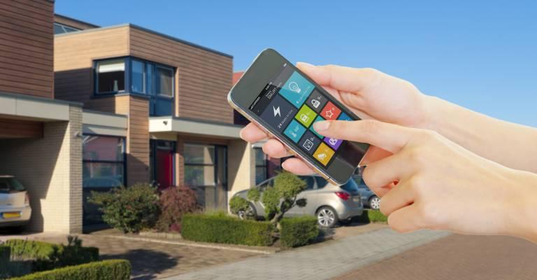 Smarthome via mobiele telefoon